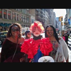 Galatha & 2 fans NYC