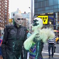 Androids in the street NYC
